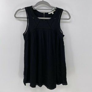 Search for Sanity black sleeveless top sz XS